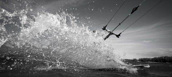 Tatiana Howard Kiteboarding