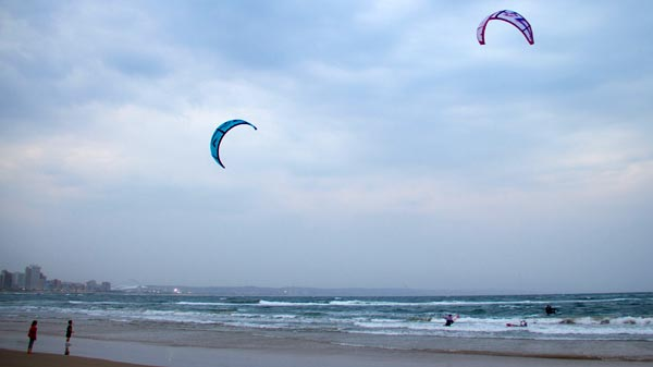The Unlimited Kitesurfing Expedition Beach Finish