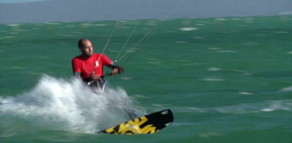 Wave Kitesurfing Tutorial Twin Tip Board
