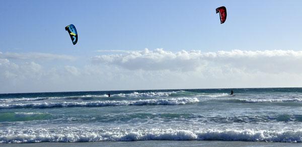 Western Australia Dongara Kitesurfing