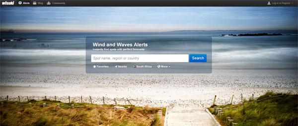 Wisuki Alerts Homepage