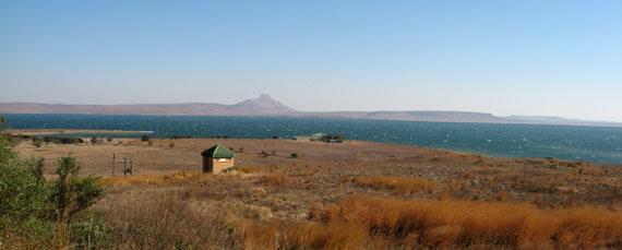 Kitesurfing - Sterkfontein Dam