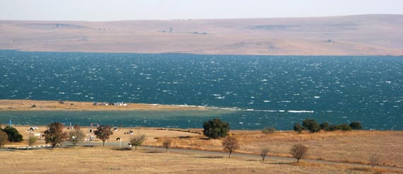 Kiteboarding - Sterkfontein Dam