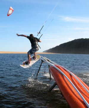 Kitesurfing Slide - Sinisa Misic - Kitesports, South Africa