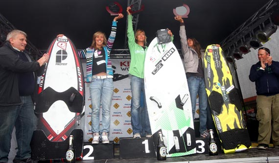 Kitesurf World Cup Sylt 2011 - Podium Women