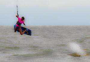 Jessica Winkler - Kitesurfing