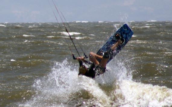 Jessica Winkler Kitesurfing - Nicaragua
