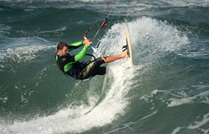 Kitesurfing - Wave Riding - Rob Chrystal