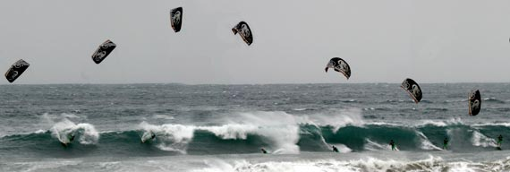 Kiteboarding - Wave Riding - Rob Chrystal