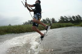 Kitesurfing - How To Jump - Release Edge
