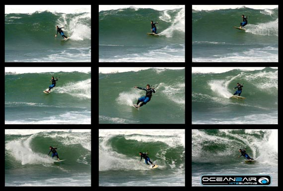 Wave Riding - Cut Back - Peter Bolton