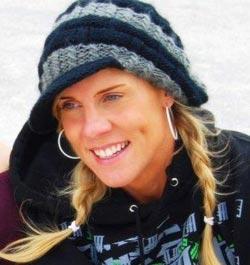 Christine Sleichter - Kitesurfer