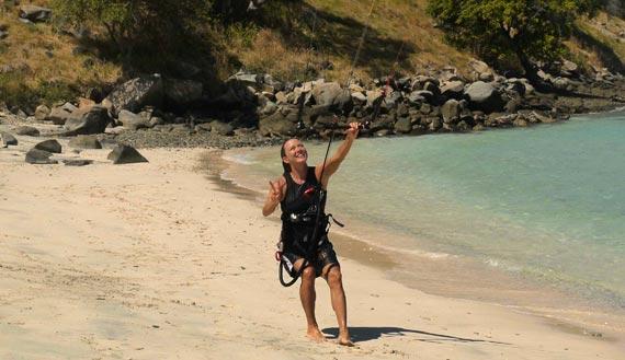 Davina Stephens - Kiting Komodo Duyung Strait