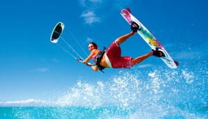 Girl Kitesurfer - Angela
