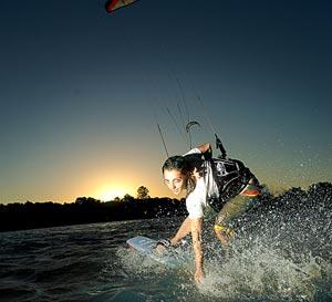 Lulu Alexandre Dupey - Kitesurfing
