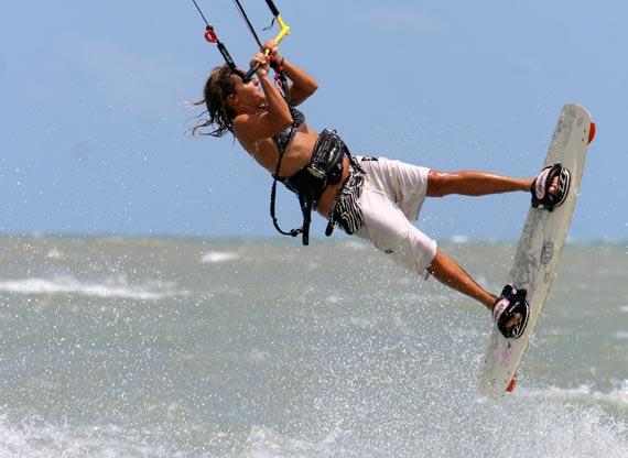 Lulu Alexandre Dupey - Kiteboarding