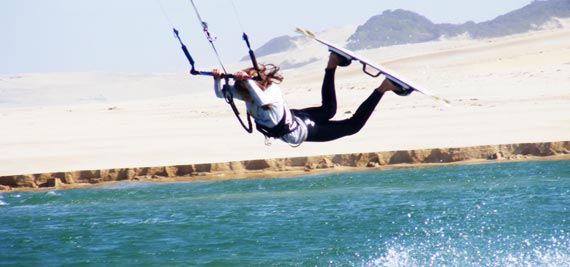 Michelle Smith - Kiteboarder