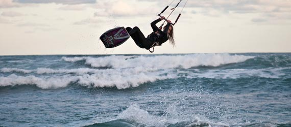 Michelle Smith - Kitesurfer