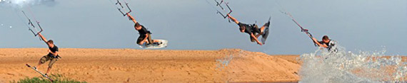 Board Grab Sequence - Sinisa Kitesurfing