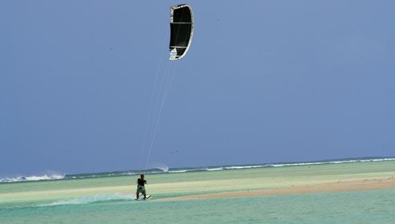 Kitesurfing - Rodrigues Island - Jimmy's Pass