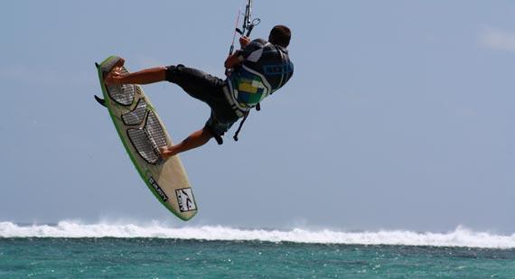 Kitesurfing - Rodrigues Island - Kitesurfer