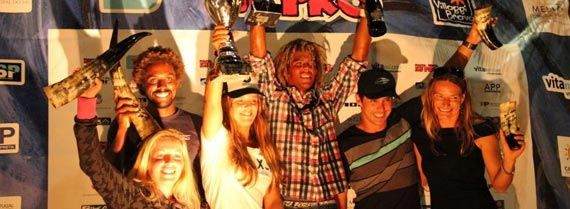 Ponta Preta Kitesurf Pro - Cape Verde Awards Ceremony - Winners