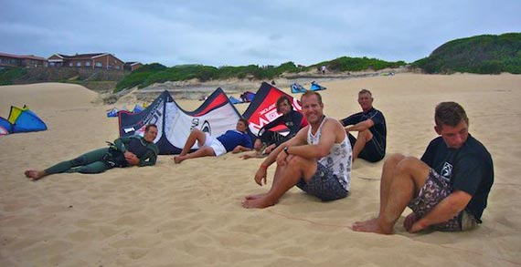 Cannon Rocks Kiteboarding Classic 2012 - Waiting for Wind