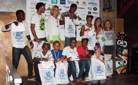 Cabarete Bay Kite Challenge 2012 - Prize Giving