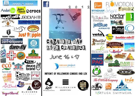 Cabarete Bay Kite Challenge 2012 Sponsors