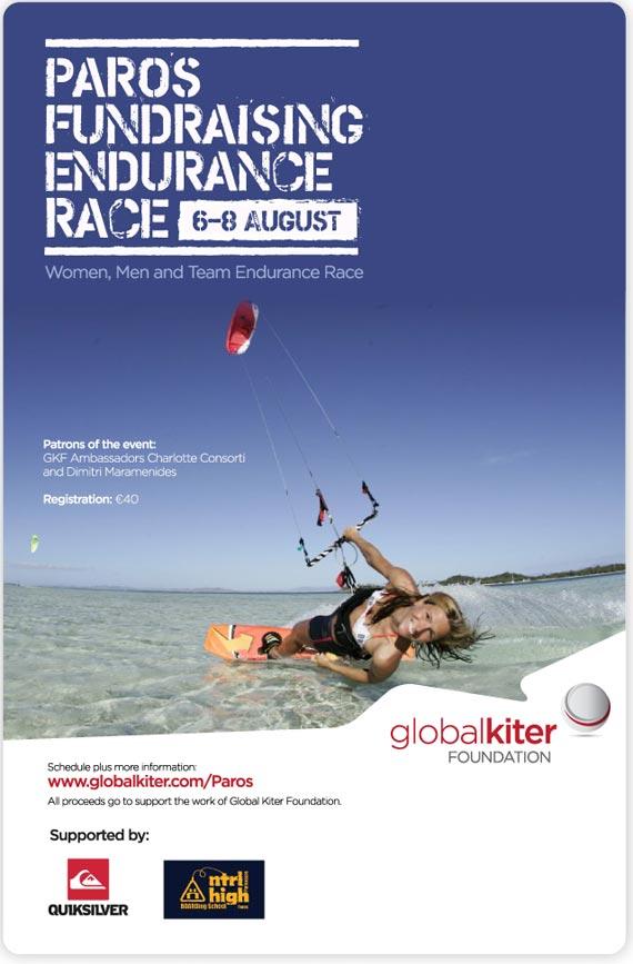GKF Paros Endurance Race Poster
