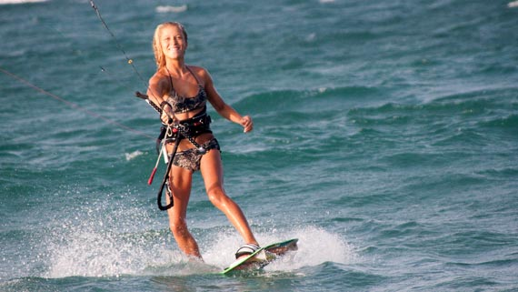 Katie Bowcutt Kiteboarding