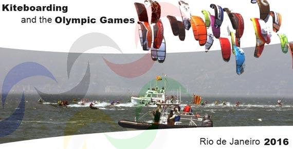 Kiteboarding Olympics Campaign 2016 Rio de Janeiro Olympic Games