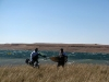Kitesurfing at Sterkies - Rob & Bruce