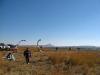 Kiteboarding at Sterkfontein Dam